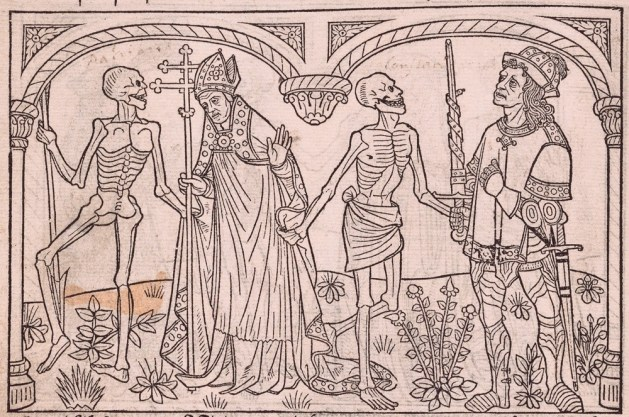 The Black Death killed up to a half of the population of England in the late 1340's.