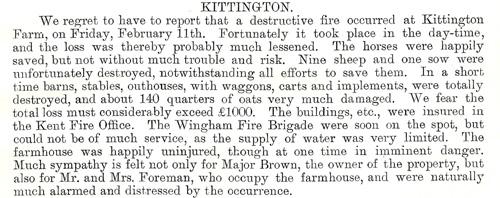 1898 March Kittington fire 1a