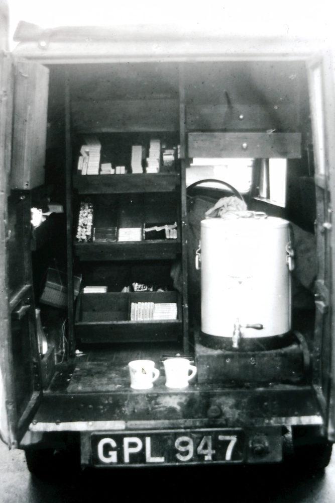 WW2-back of YMCA van, St Albans