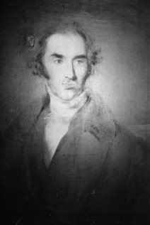 John Pembleton Plumptre :artist unknown. Possibly commissioned after election as an MP in 1832