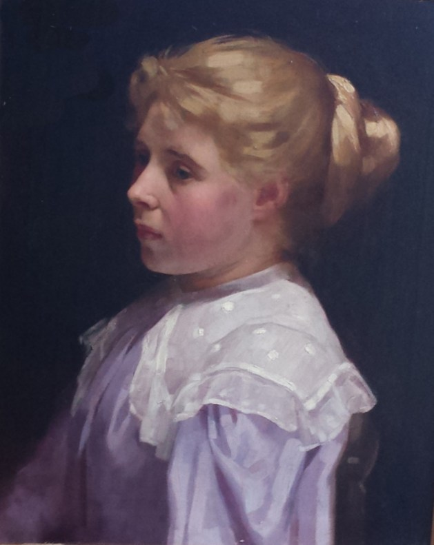 Sissie, painted in 1896 by the then Laura Johnson