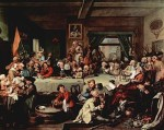 Humours of election William_Hogarth_028