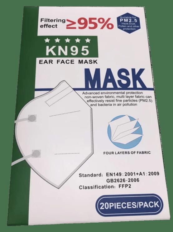 Masca faciala KN95 FFP2 10 buc/set