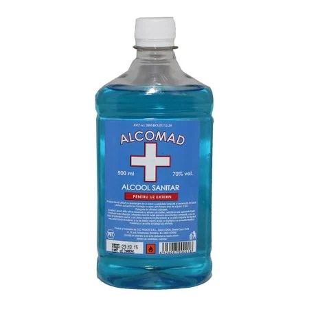 Alcool sanitar 70% Alcomad 500ml