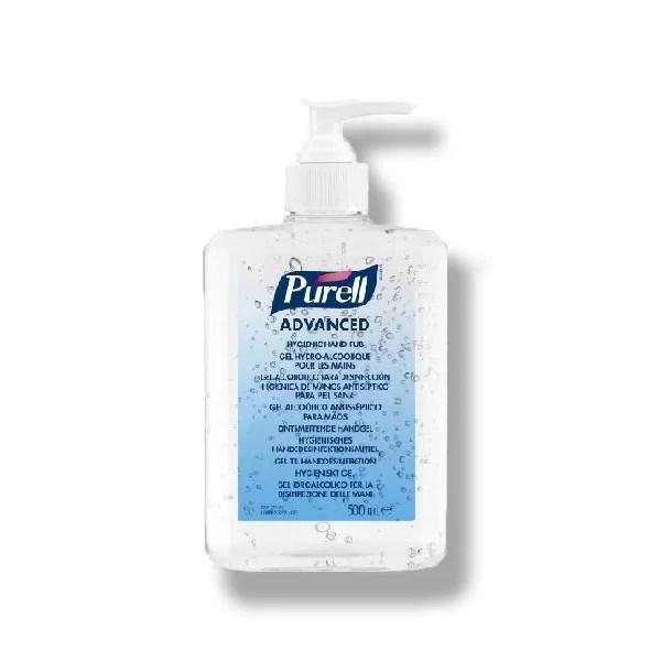 Dezinfectant maini gel Gojo Purell Advanced 9668 500 ml cu pompita