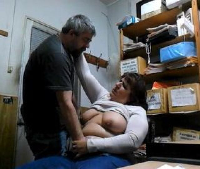 Janitor Fucks Mature Bbw Hooker In Storage Room And Taped