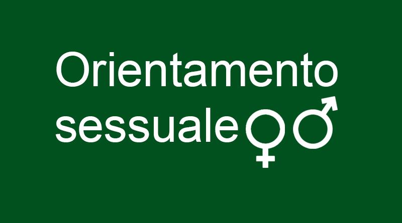 Orientamento sessuale