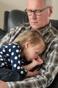 nipote e nonno