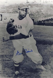 My autographed photo of Gene Collins.