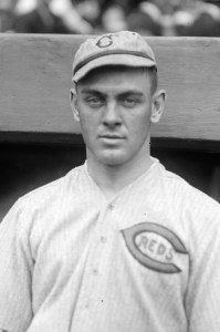 "The Cincinnati Reds' ""Hod"" Eller no-hit the Cardinals in 1919."