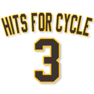 Hits for cycle 3