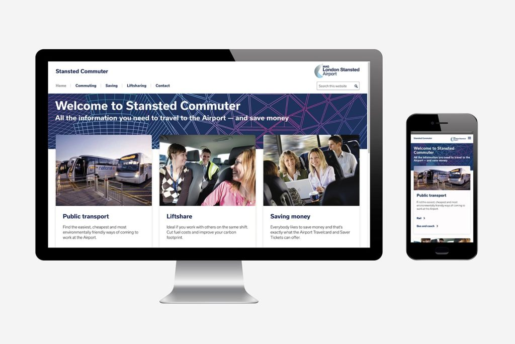 Stansted Airport websites
