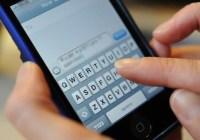 cellphone text