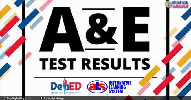 Deped ALS A&E Results