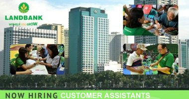 Landbank hiring Customer Assistants nationwide.