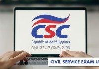 Civil Service Exam update