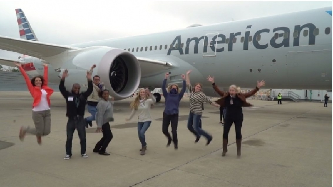 American Airlines Is 2017 Atw Airline Of The Year