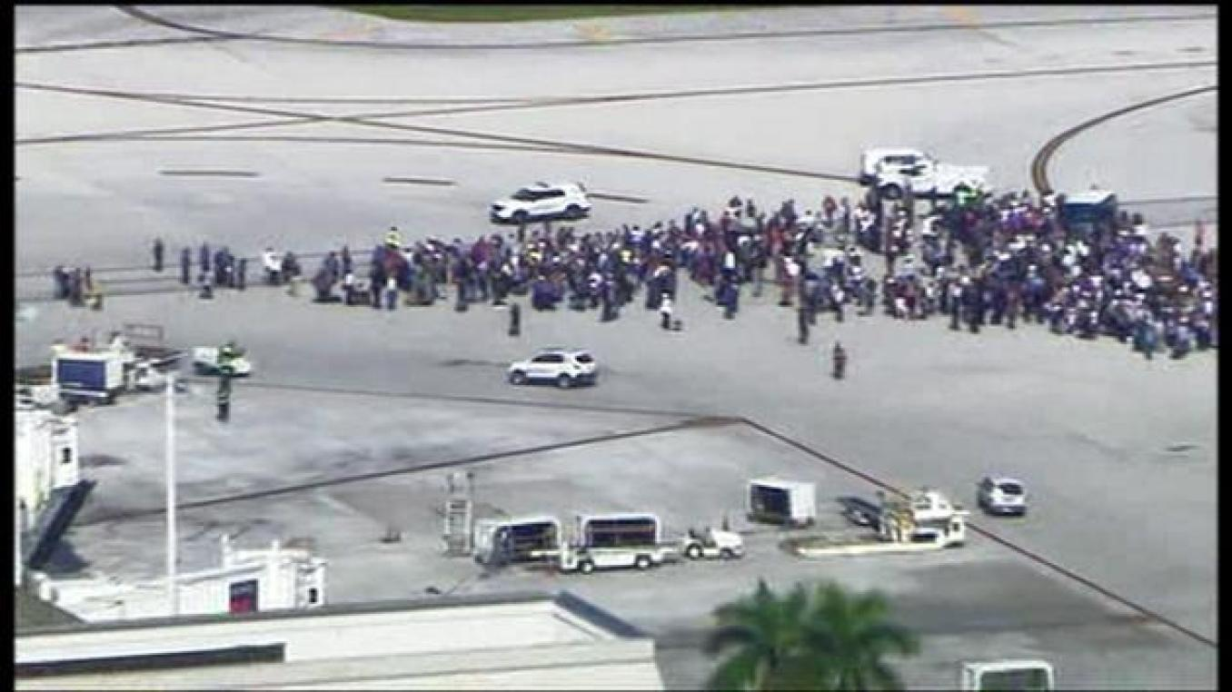 Ft. Lauderdale Airport Shooting