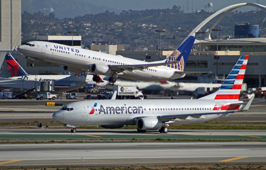 United and American Airlines