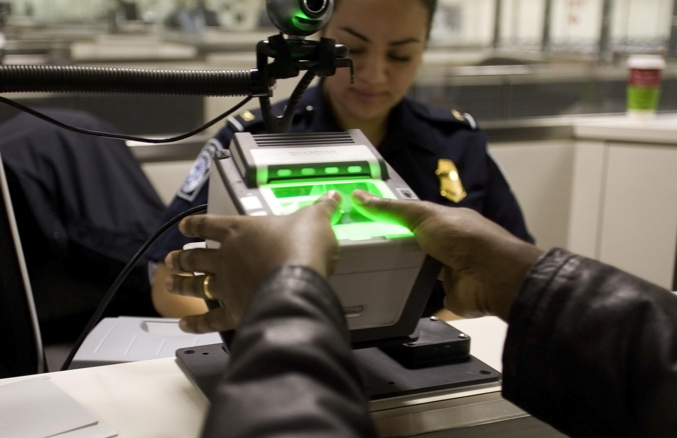 Airport fingerprints