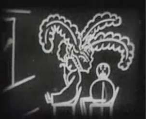 É Cohl, Fantasmagorie, 1908