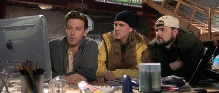 Jay e Silent Bob fermate Hollywood!, curiosità, Kevin Smith, Jason Mewes, Ben Affleck