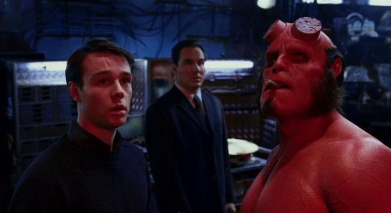 Hellboy, scheda film, recensione, Guillermo del Toro, Ron Perlman, Selma Blair, colonna sonora