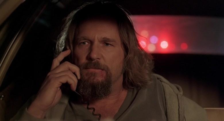Il grande Lebowski citazioni e dialoghi della pellicola di Joel Coen, Drugo al telefono