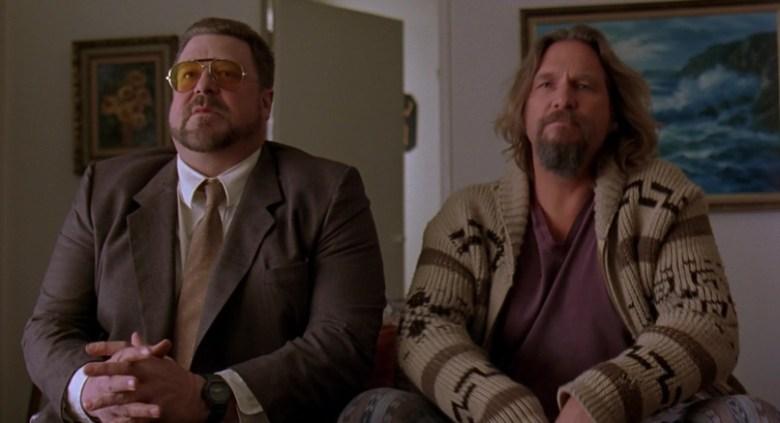 Il grande Lebowski citazioni e dialoghi di Joel Coen con Jeff Bridges, John Goodman, Julianne Moore, Steve Buscemi, Walter interroga Larry