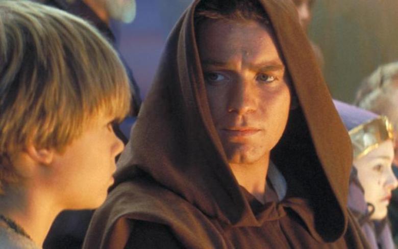 Star Wars Episodio I - La minaccia fantasma citazioni e dialoghi di George Lucas con Liam Neeson, Ewan McGregor, Natalie Portman, Jake Lloyd, Obi Wan e Anakin