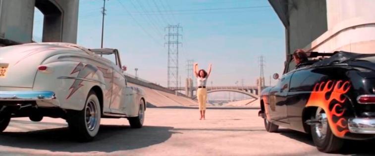 Los Angeles River (LA River) al cinema, Grease