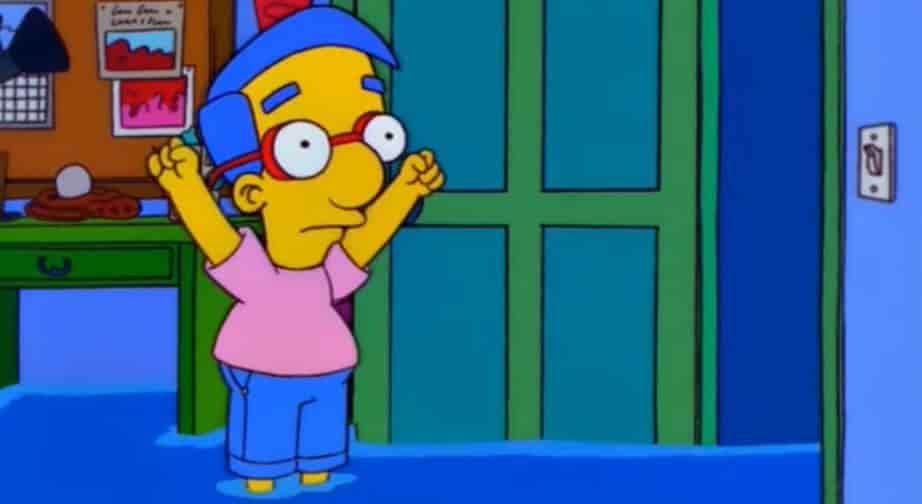 Il nome di Milhouse nei Simpson