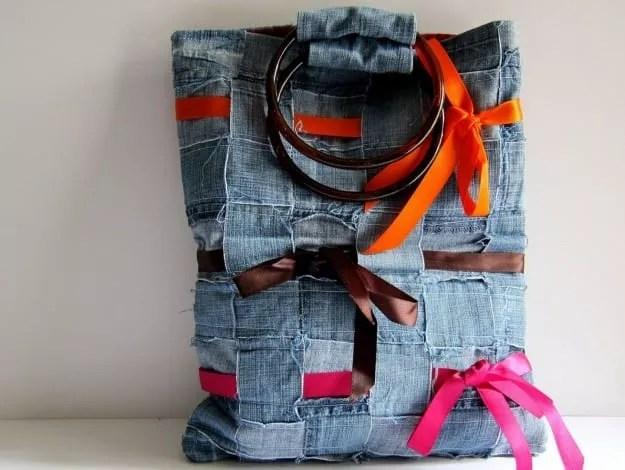 pantalones vaqueros de reciclaje creativo: muchos consejos útiles