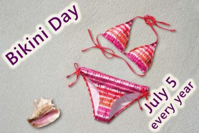 Celebrate Bikini Day July 5