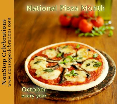October is National Pizza Month