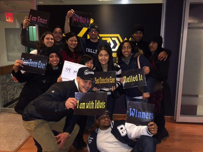 Escape The Room Challenge Nyc