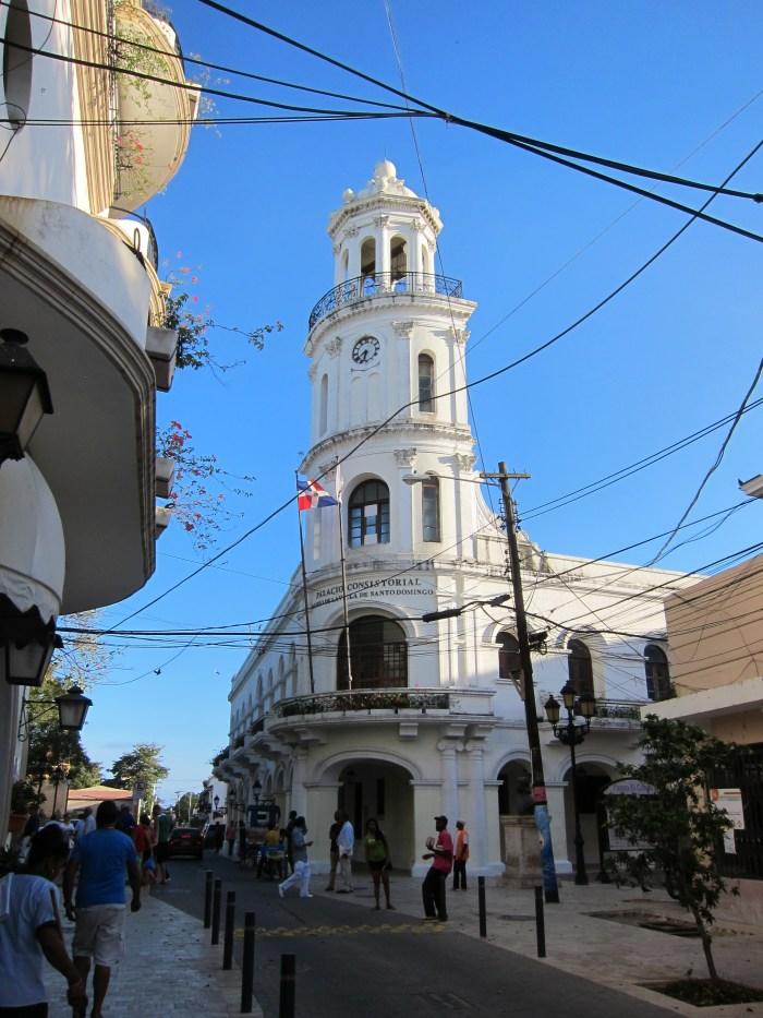 colonial zone in santo domingo