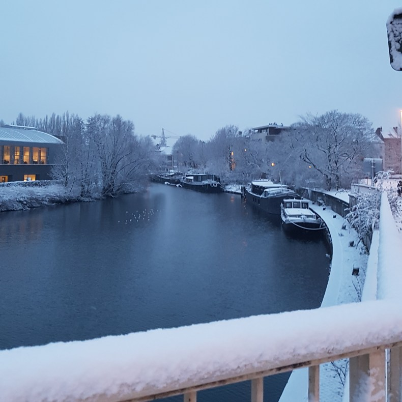 Snow in Ghent