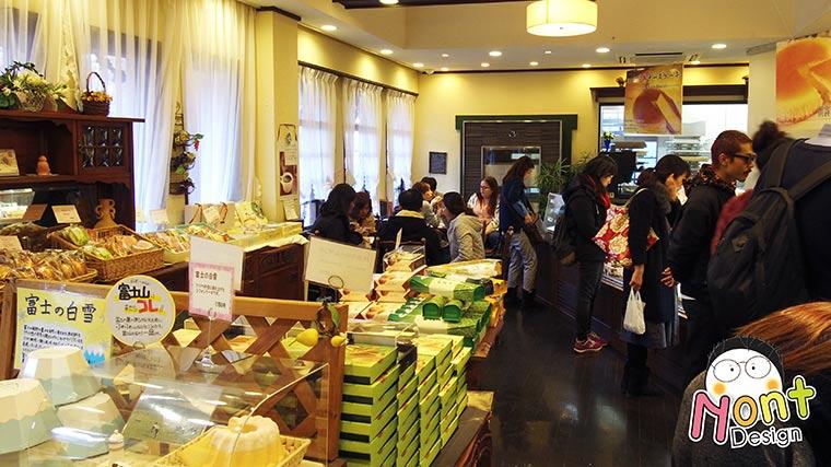 Cheese Cake Garden @Kawaguchiko