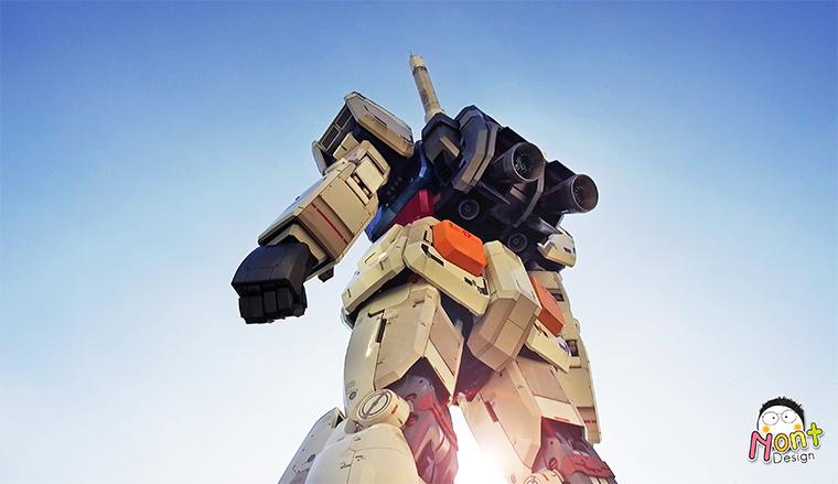 Goodbye Gundam @ Odaiba