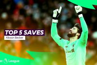 top 5 Saves: Alisson Becker di Premier Laguage