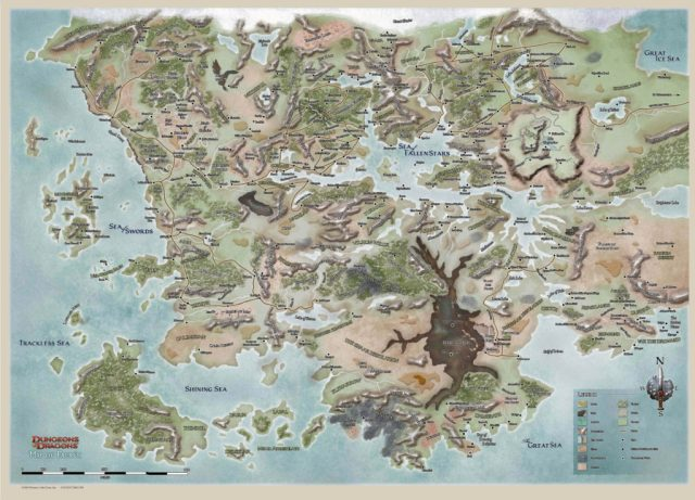 I can be found all over but primarily in the Sword Coast/Sea of Swords area