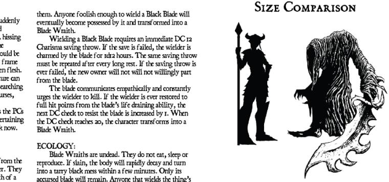 Blade Wraith