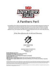 A Panthers Peril