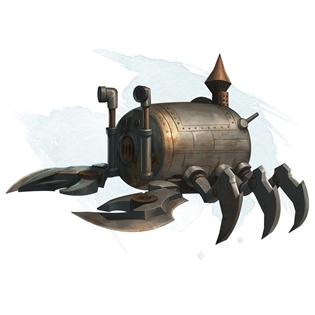 apparatus of the crab