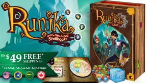 Runika and the Six-sided Spellbooks