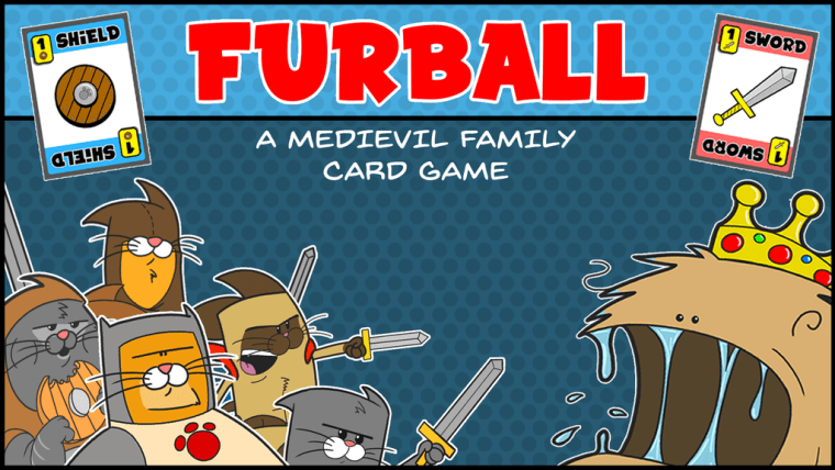 Furball—A Medievil Family Card Game