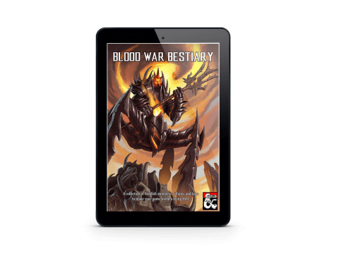 Blood War Bestiary