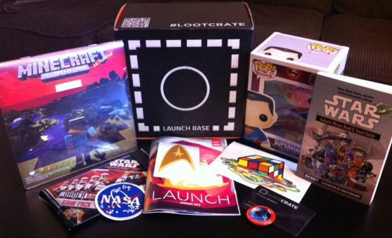 January 2014 Loot Crate