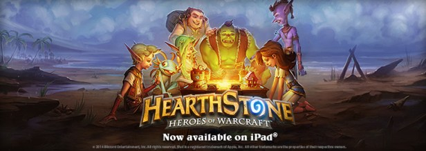 hearthstone released on ipad